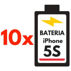10 x bateria iPhone 5s / 5c